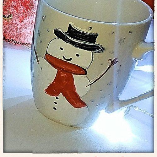 koypa zografismeni, xionanthropos snowman