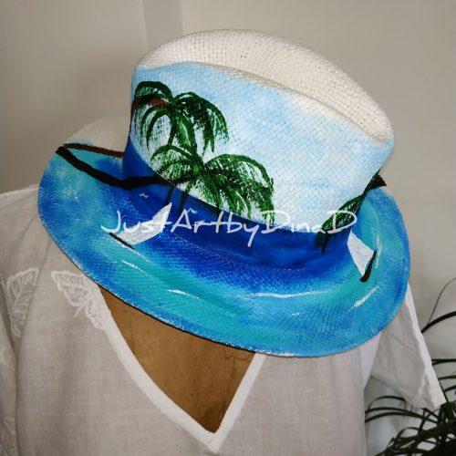 psathino kapelo panama zografismeno thalassa